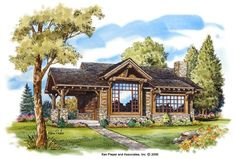 "Stone Mountain Cabin Plans... another ""tiny home"" with windows"
