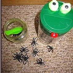 frog game from parmesan cheese shaker