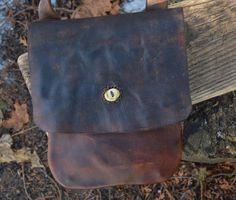 My new Hunting Pouch by @ML Knives!!  #MLKnives, #handsewn,