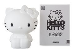 A designer lamp for girls of 45 and ladies of 5. In short, for everyone who loves Hello Kitty! Her name is Kitty White, as a tribute to the original name of Hello Kitty. Made in the Netherlands, Dutch Design. The first Hello Kitty designer lamp. The lamp comes with remote controlled LED-lighting. With that you can completely adjust the color and light intensity to the style of your living- or bedroom, your mood and the occasion. Kitty White is made of a high-quality polyethylene, which ...