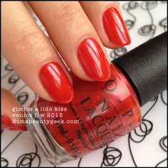 OPI Gimme A Lido Kiss – OPI Venice Collection 2015