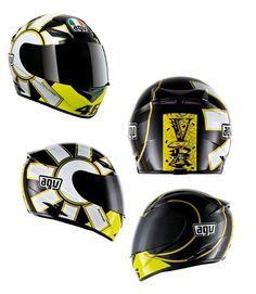 AGV K3 Rossi Gothic Helmet