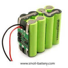 14.8V 18650 Li Ion Battery Pack For Medical ICU Monitor