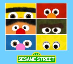 Awesome for a Sesame Street party.