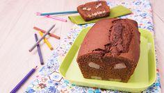 Cake moelleux chocolat-banane