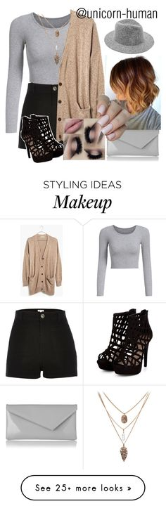 """""""Untitled #1020"""" by unicorn-human on Polyvore featuring River Island, Madewell and L.K.Bennett"""