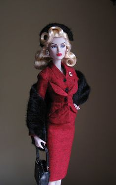 """Collecting Fashion Dolls by Terri Gold: Guest Review: """"Odds Are Stacked"""" Gloria Grandbuilt..."""