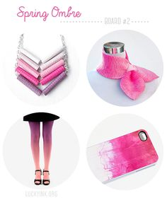 Etsy Inspiration Board 2: Spring Ombre