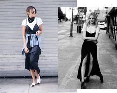Tú decides: slip dress + camiseta, ¿sí o no?