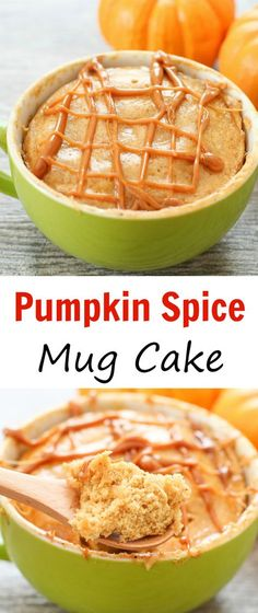 Spice Mug Cake Pumpkin Spice Mug Cake. A delicious, fluffy pumpkin cake full of fall spices ready in less than 5 minutes!Pumpkin Spice Mug Cake. A delicious, fluffy pumpkin cake full of fall spices ready in less than 5 minutes! Mug Recipes, Pumpkin Recipes, Fall Recipes, Dessert Recipes, Cooking Recipes, Pumpkin Mug Cake Recipe, Vegan Desserts, Dinner Recipes, Mug Cakes