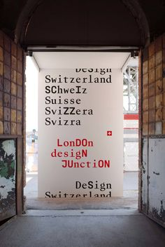 Swiss Arts Council Pro Helvetia — Design Switzerland — Branding by Base Design Wayfinding Signage, Signage Design, Swiss Design, Logo Restaurant, Restaurant Interior Design, Environmental Graphics, Visual Identity, Planer, Illustrations Posters