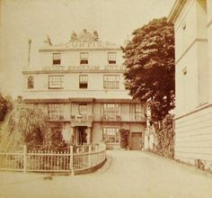 The Curtis Mount Ephraim Hotel (now The Royal Wells Hotel) in the late 19th century.