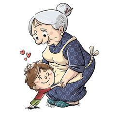 Cartoon Grandma, Good Morning Hug, Stained Glass Flowers, Mini Canvas Art, Calendar Design, Russian Art, Digi Stamps, Beautiful Paintings, Projects For Kids