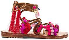 Mystique sandales