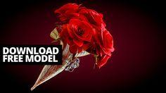 Modeling roses in Blender