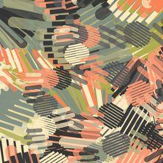by Fabrika. Pattern salmon pink green                                                                                                                                                     More