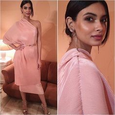 Diana Penty Outfit - Lola by Suman B Earrings - Misho Sandals - Louboutin Styled by - Nidhi Jacob #bollywood #style #fashion #beauty #bollywoodstyle #bollywoodfashion #indianfashion #celebstyle #dianapenty #lolabysumanb