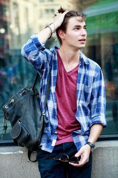 Mens Fashion. Back to school look