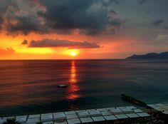Wonderful sunset at Lykia World