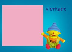 Rekenprikkels - vierkant Rubber Duck, Kids Learning, Winnie The Pooh, Worksheets, Disney Characters, Fictional Characters, Shapes, Education, Toys