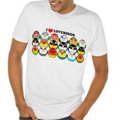 I love lovebirds tee shirt. Available for women, kids and babies clothing too. #zazzle #petopet #bird #parrot #lovebird #cartoon #cute #peachfaced #blackmasked #fischer #colormutation #agapornis #emmil #deviantart #petopet #women #men #kids #baby #hoodie #tshirt #tshirts #kid #woman #girl #girls #female #male #man #boy #boys #toddler #sweat #pull #over #long #cartoony #kawaii