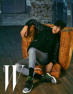 Lee Kwang Soo - W Magazine September Issue '15