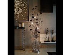 Silverado ceramic vase woven wire aluminium floor lamp featuring passion copper coffee woven wire aluminium floor lamp aloadofball Image collections