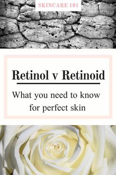 Understand the confusing facts and learn the truth about retinol and retinoids and how to use them for perfect skin. Oily Skin Care, Skin Care Regimen, Anti Aging Skin Care, Skin Care Tips, Dry Skin, Perfect Skin, Healthy Skin, Sensitive Skin, Facts
