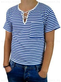 Navy Marine Men/'s Sailor Striped T-shirt Briya 100/% cotton Telnyashka Russian