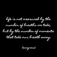 Life Is Not Measured - Greeting Card - Quotable Cards