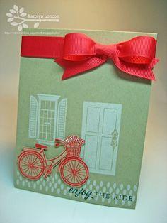 Enjoy the Ride Card by @Karolyn Loncon