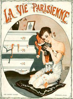 Georges Léonnec (1881 – 1940). La Vie Parisienne, 20 Décembre 1919. [Pinned 21-vii-2015]
