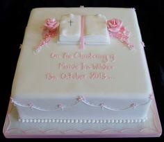 square christening cake ideas - Google Search