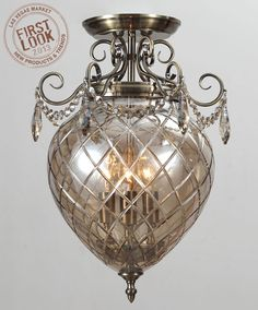 Making a grand entrance at #lvmkt Jan28-Feb1: @Crystorama Lighting Lighting will unveil its Avery Collection of cut crystal. The bell jar shape offers traditional lines (and maximum light output) for modern-day interiors.