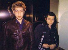 Thomas Bangalter and Guy-Manuel de Homem-Christo of Daft Punk <3