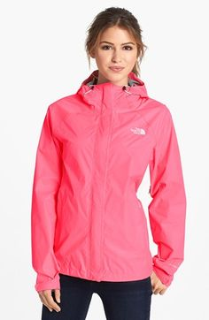 The North Face 'Venture' Lightweight Jacket available at #Nordstrom Need this for school! Always getting caught in the rain, and can't wait to put a monogram on it.