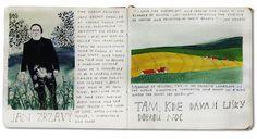 Sketchbook by Yelena Bryksenkova
