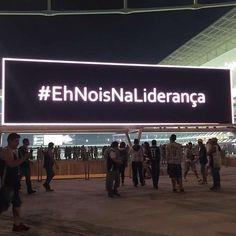 """Telão da Arena Corinthians festeja: """""""