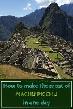 Not everyone has the time or the inclination to hike the Inca Trail. But there are ways to make the most of Machu Picchu in a single day and not feel like you are missing out. Let us show you.