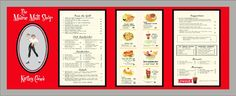 vintage 1950s menus - Google Search