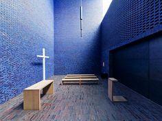 Meditation Chapel in Blue IV by yushimoto_02 [christian], via Flickr