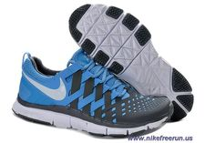 Nike Free Trainer 5.0 University Blue White Dark Grey Mens Training Shoes Sale