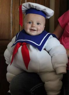 Taylor Brett Stay Puff Marshmallow Man For Your Future Kids 36 Cutest Homemade Halloween Costumes Babies