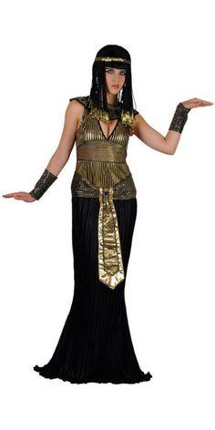 Ladies' Egyptian Queen Cleopatra Fancy Dress Costume