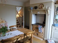 ♥♥♥ cozy cottage with a lovely AGA stove in the fireplace ♥ ♥ ♥