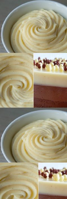 Tres Chocolates, Frostings, Mousse, Fondant, Almond, Bakery, Food And Drink, Gluten, Ethnic Recipes