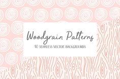 Woodgrain Patterns @creativework247