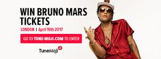 Win Bruno Mars Tickets with TuneMoji