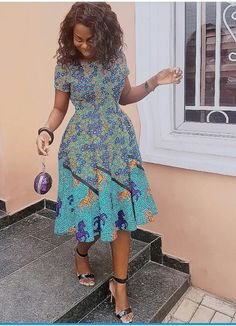 The complete pictures of latest ankara short gown styles of 2018 you've been searching for. These short ankara gown styles of 2018 are beautiful African Print Dresses, African Print Fashion, Africa Fashion, African Fashion Dresses, African Dress, Ankara Fashion, Ankara Short Gown Styles, Trendy Ankara Styles, Short Gowns