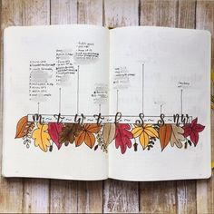 15 Cozy Bullet Journal Layouts Perfect For Fall - Bullet Planner Ideas 15 Cozy Bullet Journal Layouts Perfect For Fall - Nikola Kosterman Autumn Bullet Journal, Bullet Journal Cover Page, Bullet Journal 2020, Bullet Journal Hacks, Bullet Journal Spread, Bullet Journal Ideas Pages, Bullet Journal Layout, Bullet Journal Inspiration, Bullet Journal October Theme